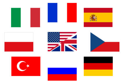 flags exapro languages